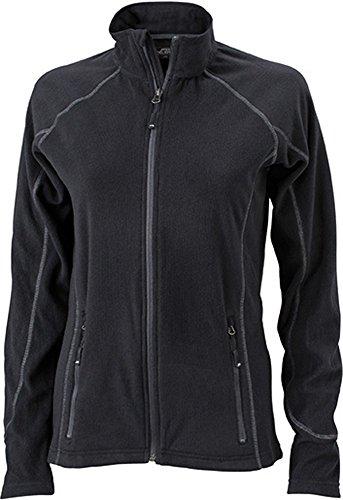 Ladies'structure jN596 veste en polaire et extérieur en polaire - green- darkgreen