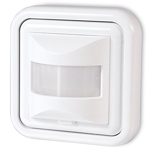 sonero IMS050 Infrarot-Bewegungsmelder - Innenmontage, weiß, Schutzklasse: IP20, 160° / 9m Arbeitsfeld