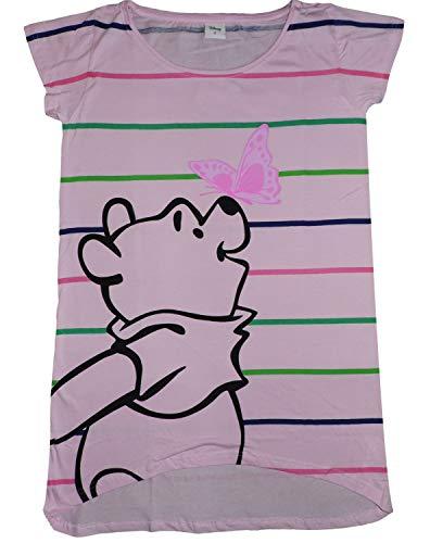 Disney Winnie The Pooh camisón algodón Mujer Rosa