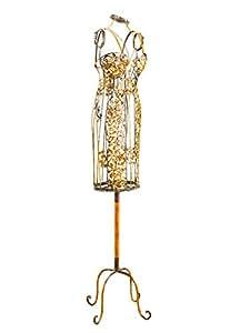 Mannequin de couture/présentation femme - style antique - fer