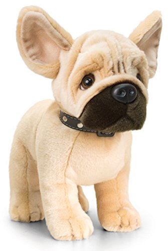 Lashuma Plüschtier Hund französische Bulldogge, Signature Puppies Kuscheltier, Kuscheltier stehend 30 cm (Bulldogge Französische Stofftier)