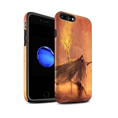 Offiziell Chris Cold Hülle / Matte Harten Stoßfest Case für Apple iPhone 7 Plus / Ghouls der Furcht Muster / Dämonisches Tier Kollektion Kriegsheld/Warlock