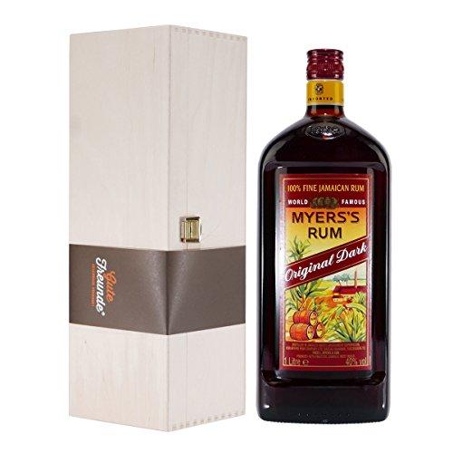 Myers's Rum mit Geschenk-Holzkiste