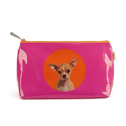 Catseye Kulturtasche Spot Chihuahua Washbag Beauty Hund Groß Reise Mäppchen Tasche