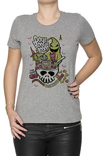 oops Damen T-Shirt Rundhals Grau Kurzarm Größe M Women's Grey T-Shirt Medium Size M ()