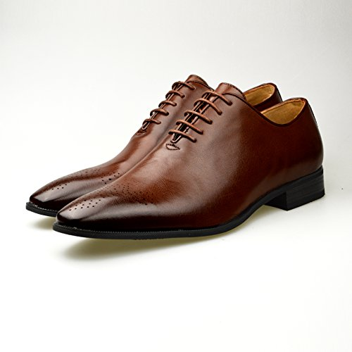 Oxford schwarz Herren Leder Schuhe offiziellen Smart Größe 6, 7, 8, 9, 10, 11 Hautfarben
