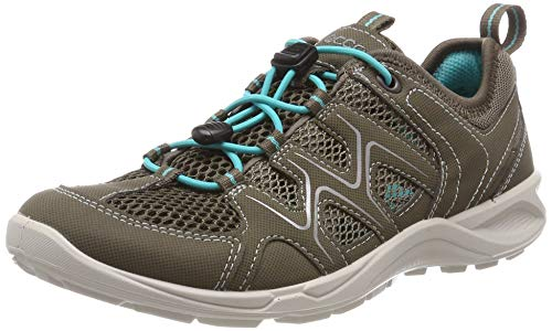 ECCO Damen Terracruise LT Trekking- & Wanderhalbschuhe, Grau (Warm Grey/Dark Clay/Turquoise 58440), 36 EU (Schuhe Frauen Ecco Sport)