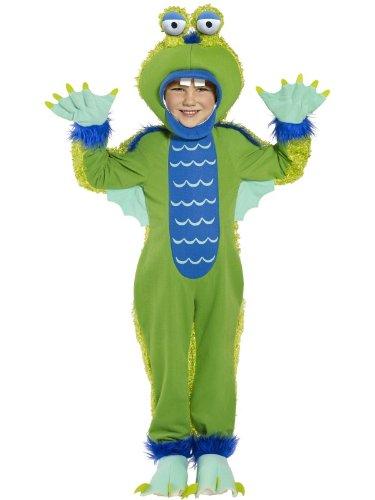 Sumpfmonster Halloween Kinderkostüm Monster, (Kostüme Sumpf Halloween)
