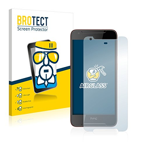 BROTECT Panzerglas Schutzfolie kompatibel mit HTC Desire 628 - Flexibles Airglass, 9H Härte