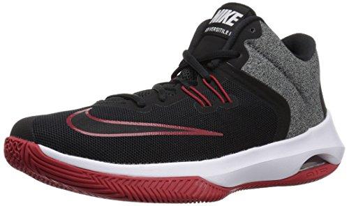 Nike Herren Air Versitile II Basketballschuhe, Schwarz (Black/White-Gym Red 002), 38.5 EU