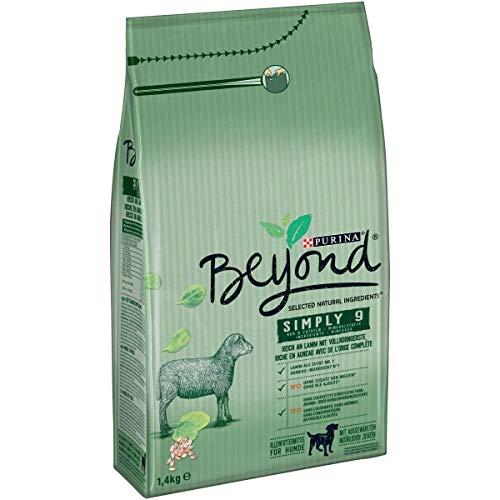 Purina BEYOND Simply 9, Hundetrockenfutter: Premium Hundefutter mit natürlichen Zutaten, ohne Zusatz von Weizen