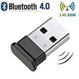 HANPURE Bluetooth USB Dongle, Bluetooth Adapter 4.0, Plug and Play Wireless Dongle