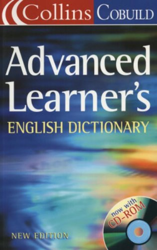 Collins cobuild advanced learner's dictionary. Con CD-ROM
