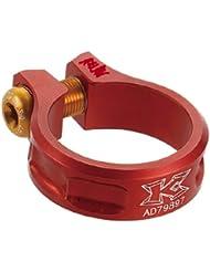 Abrazadera Tija Sillín KCNC SC-11 Rojo - Medidas: 36.4 mm