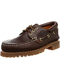 Timberland Trad Hs 3 Eye Lug, Chaussures basses homme - Marron (Brown Pull-Up)