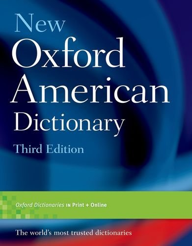 New Oxford American Dictionary 3rd Edition (2010-09-02)