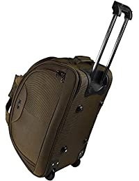 Thames Polyester 55 cms Travel Duffle Trolley Bag