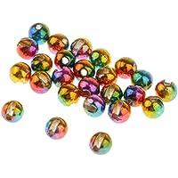 5,5mm 7//32 - Wahl der Farben Hareline 20 x Wolfram Perlen 1g f/ür Fliegenbinden