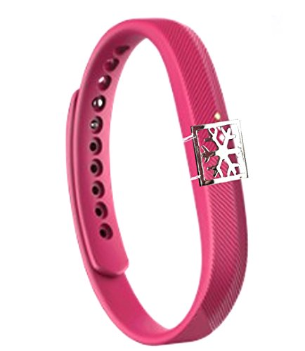 Fashion Fitness Band Bling jewelry Accessory charm for fitbit FLEX 2- Fitness Tracker (ONLY bling accessory, no bands, NO TRACKERS)