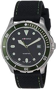 M-WATCH Swiss Made Aqua Steel 41 Analog Black Dial Men's Watch-WBX.3122