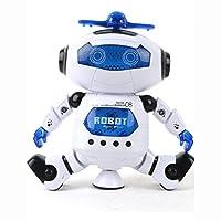 Hmeng Elektronische Roboter Bildung Spielzeug, Walking Dancing Smart Space Roboter Astronaut Kinder Musik Licht Spielzeug