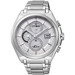 Citizen Herren-Armbanduhr XL Super Titanium Chronograph Titan CA0350-51A