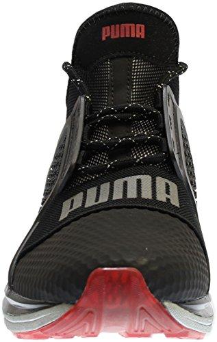 Puma Ignite Limitless Hi-Tech Toile Baskets Puma Black