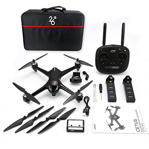Tellaboull per JJR/C X8 RC Helicopter 2.4G Brushless Motor RC Drone con 5G WiFi FPV 1080P HD Camera GPS Quadcopter doppie batterie