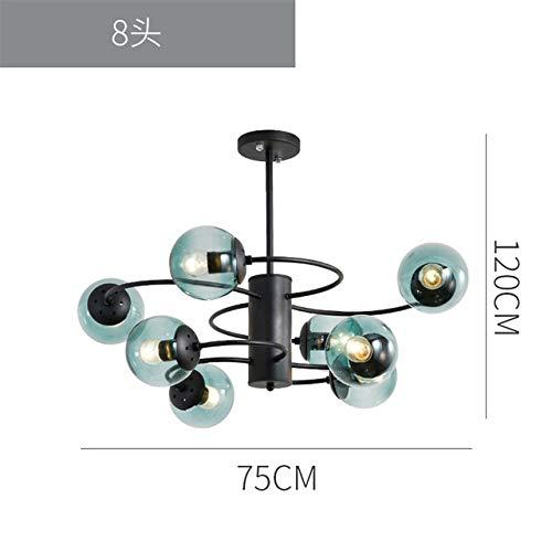 Monkey Lamps Hemp LED Luces colgantes Iluminación Resina Led Luces colgantes Lobby...