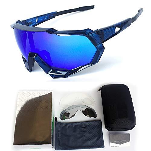 GBY Snowboard-Sport-Sonnenbrille, Sonnenbrille, unzerbrechlicher Rahmen für Radfahrbrille, Polykarbonat, 2, Einheitsgröße
