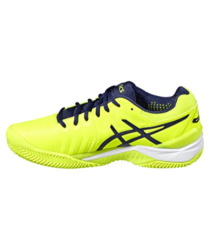 Asics Herren Gel-Resolution 7 Clay Tennisschuhe GELB