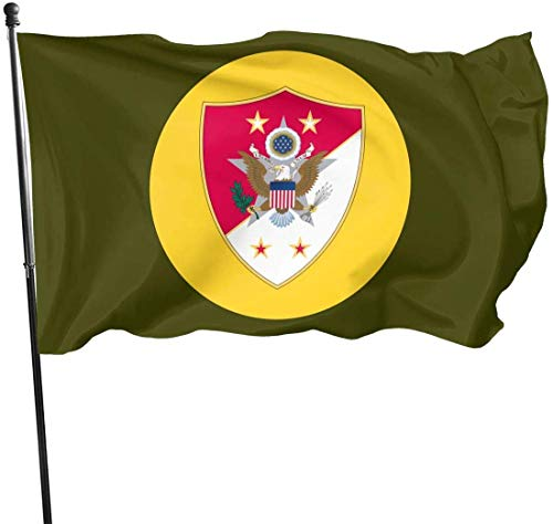Eriesy Flagge Gartenflaggen Sergeant Major of The Army Flag 3' X 5' Ft Outdoor Flags Banner Breeze Flag
