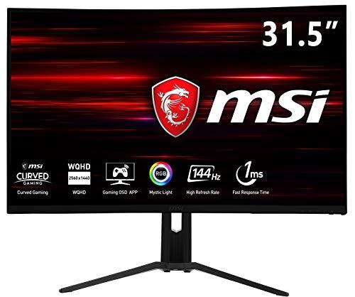 MSI Optix MAG322CQRV - Monitor de 31.5' 2560 x 1440, Color Negro