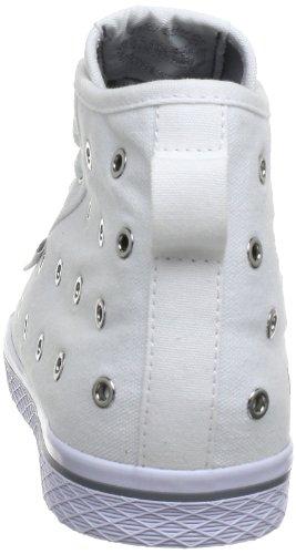 adidas Originals Honey Mid Ef W, Baskets Basses femme Blanc - Weiß (RUNNING WHITE FTW / RUNNING WHITE FTW / METALLIC SILVER)