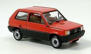 Fiat Panda, rot, 1980, Modellauto, Fertigmodell, Minichamps 1:43
