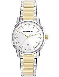Pierre Cardin Alfort Femme Two Tone - Damenuhr, Analog, Quarz, Edelstahl IP- Bicolor PC901862F04