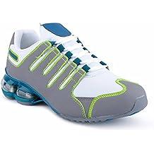 Fusskleidung Herren Damen Sneaker Sportschuhe Lauf Freizeit Neon Runners  Fitness Low Unisex Schuhe