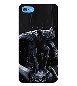 For Apple iPod Touch 6 :: Apple iPod 6 (6th Generation) dangerous man, man, man in mask, black background Designer Printed High Quality Smooth Matte Protective Mobile Case Back Pouch Cover by APEX ELEGANT