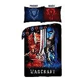 Warcraft Kinderbettwäsche 025 Bettwäsche 140x200 cm + 70x90 cm