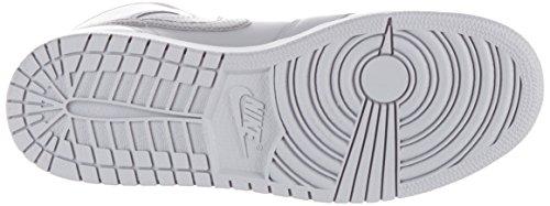 Nike  554725-033, espadrilles de basket-ball garçon Gris (Wolf Grey/cool Grey/white)