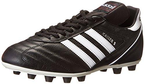 Adidas Kaiser 5 Liga, Scarpe Da Calcio Da Uomo Noir (Black/Running White Ftw/Red)