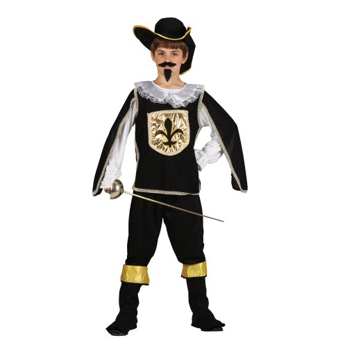 deguisements-age-de-costume-de-mousquetaire-noir-enfants-10-11-ans