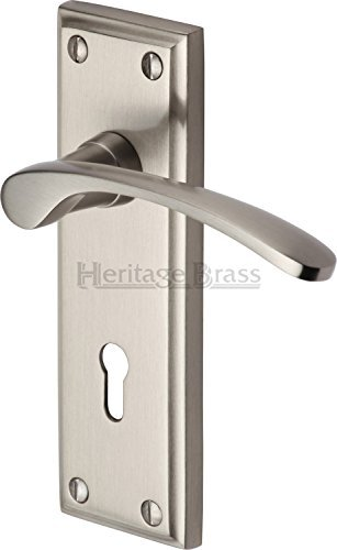 hilton-lever-lock-set-of-2-finish-satin-nickel-by-mmarcus