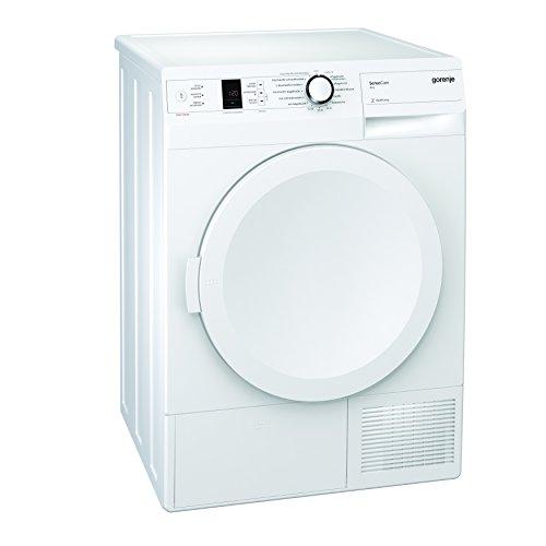 Gorenje D 8560 A++ Kondenstrockner FL / A++ / 8 kg / weiß / Wärmepumpentechnologie / Startzeitvorwahl 24 h / Knitterschutz