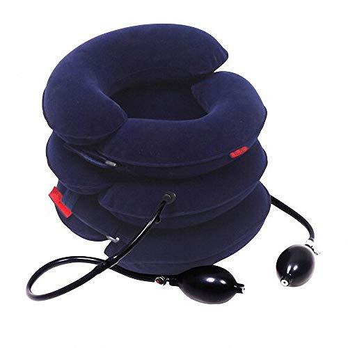 Almohada Inflable para El Cuello Dispositivo de Tracción del Cuello Inflable Collar del Cuello Cuello...