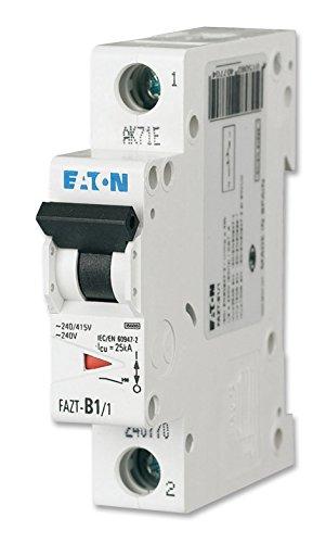 Eaton faz6-c16/1Thermo magnetisch Leitungsschutzschalter, C Typ, faz6Serie, 400VAC, 16A, 1Stange, DIN Schiene, Panel, 1 (1 Panel Schiene)