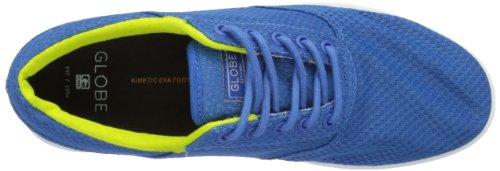Globe Lyte, Chaussures de Skateboard mixte adulte Bleu - Blau (blue mesh 13187)