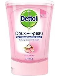 Dettol Savon Recharge pour No Touch Karité 250 ml