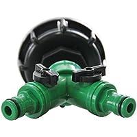 MultiTanks 999082 - Válvula de 2 vías para tanques (capacidad 1000 l, plástico), multicolor