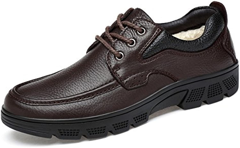 Hongjun-scarpe Scarpe Uomo Uomo Uomo 2018, Scarpe Oxford da Uomo alla Moda, Scarpe Casual con Cinturino Leggero antisismico...   Ad un prezzo accessibile  5b30c4